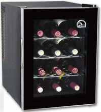 Igloo FRW1201 12 Bottle Wine Cooler  Black FREE SHIPPING  SLIGHT DAMAGE