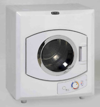Avanti 110 Volt Automatic Portable Compact Dryer with Stainless Drum and Window
