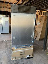 Sub Zero 36  Stainless Built in Over And Under Refrigerator BI 36U S PH LH
