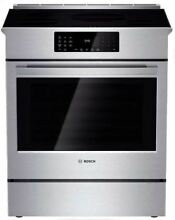 Bosch Benchmark Series 30  Stainless Steel Slide in Induction Range HIIP054U