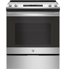 GE  JS660SLSS 30  Slide In Electric Range