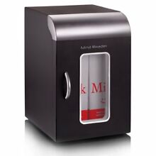 Mind Reader Compact Portable Personal Mini Fridge  For Home  Office  Six Can