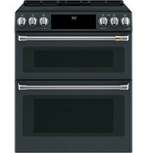 GE CHS950P3MD1 Caf  30  Slide In  Induction and Convection Double Oven Range