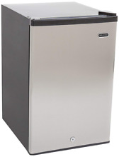 Whynter CUF 210SS Energy Star Upright Freezer  2 1 Cubic Ft  Stainless Steel