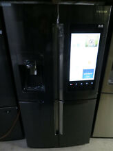 SAMSUNG RF28M9580SG 36  Black Stainless Steel French Door Refrigerator