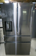 Samsung Refrigerator 36  Black Stainless 4 door french RF23M8090SG