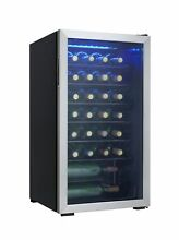 Danby 36 Bottle Freestanding Wine Cooler Stainless Steel   NO SALES TAX