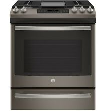 GE  JGS760EELES 30  Slide In Front Control Convection Gas Range