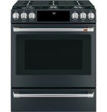 GE Caf  CGS700P3MD1 30  Slide In Front Control Gas Oven with Convection Range