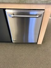 ZBD8900VII GE MONOGRAM 24  Built In Fully Integrated Dishwasher W  SS PANEL