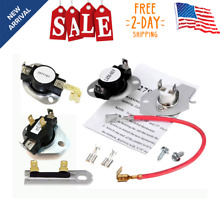 Dryer Complete Thermostat Thermal Fuse Kit Whirlpool Kenmore Maytag Roper Part