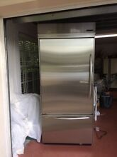KitchenAid stainless steel refrigerator 36  Bottom Mount Built in