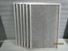 EZ Kleen aluminum range hood filter 14 1 2  x 9 1 4 x 3 8 NEW LOT of 4