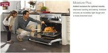 Miele HR1956G 48  Range Dual Fuel Gas burners griddle convection m wave warmer