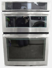 Jenn Air JMW3430WS 30  Stainless Combination Microwave Wall Oven