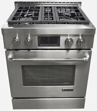 Jenn Air JGRP430WP 30  Pro Style Stainless Steel Free Standing Gas Range
