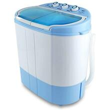 Electric Portable Washer   Spin Dryer Mini Washing Machine And Spin Drying Tw