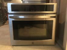 Kenmore 49423 30  Electric Self Clean Single Wall Oven  Stainless Steel 30  Off