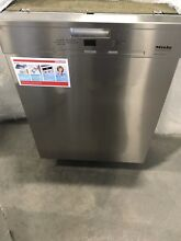 G4925SCUSS MIELE FULL COUNSOLE DISHWASHER STAINLESS DISPLAY
