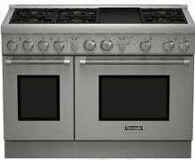 Thermador Pro Harmony Professional Series 48  Pro Style Gas Range PRG486GDH