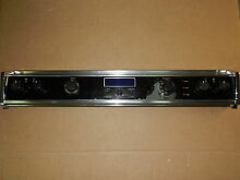 JENN AIR COMPLETE BLACK CONTROL PANEL UNIT WITH SWITCH MODEL S136 C S156 C S166W