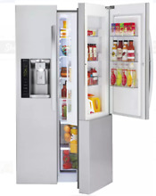 LG LSXC22486S 36 In Stainless Steel Side by Side Refrigerator