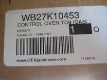 GE Oven Part   WB27K10453 Electronic Control Board Black