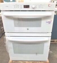 NEW OUT OF BOX GE PROFILE WHITE MICROWAVE CONVECTION OVEN