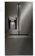 LG LFXS28968D 36 In Black Stainless Steel French Door Refrigerator