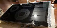 SAMSUNG NZ36K7880UG 36  Black Stainless Induction Cooktop NEW open box