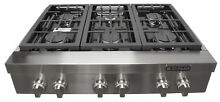 Jenn air JGCP436WP 36  Stainless Steel Pro Style Gas Rangetop