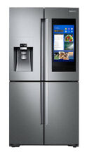 Samsung RF28N9780 28 cu  ft  4 Door Flex Refrigerator   Stainless Steel