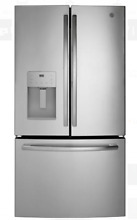 GE GFE26JSMSS 36 In Stainless Steel French Door Refrigerator