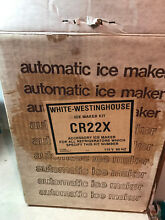 GENUINE WHITE WESTINGHOUSE Refrigerator AUTOMATIC ICE MAKER KIT CR22X