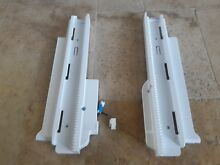 Lg  kenmore elite refrigerator freezer rail guide set MEG63143201   AEC73317803