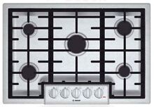 Bosch 800 Series 31  Stainless Steel Gas Cooktop NGM8055UC