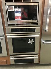 MEDMCW31JS THERMADOR 30  TRIPLE COMBO OVEN DISPLAY MODEL