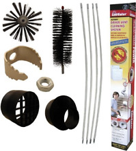 Supco RLE202 Dryer Vent   Duct Cleaning Kit  12 Ft