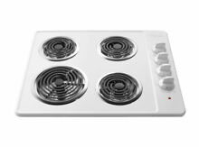 Frigidaire 30 in Cooktop White 3005LW 30  Electric Coil Cooktop White