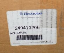 NEW Electrolux Refrigerator Freezer Door Complete Assembly Part  240410206 OEM