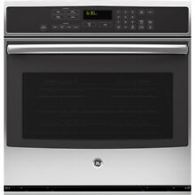 GE Profile Self Clean Convection Single Electric Wall Oven Stainless PT7050SFSS