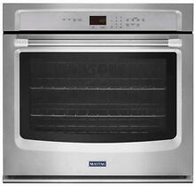 Maytag MEW9530DS 30  Electric Wall Oven w  EvenAir True Convection   Stainless