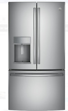 GE Profile PYE22KSKSS 22 2 Cu  Ft  Counter Depth French Door Refrigerator