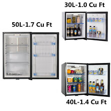 SMAD 12V DC AC 2 Way Truck Fridge Absorption Cooler Silent Minibar 30 40 50 L