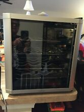 Culinair AW162S Thermoelectric 16 Bottle Wine Cooler  Silver Black
