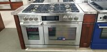 DYRP48DS DACOR 48  DUAL FUEL RANGE  DISPLAY MODEL