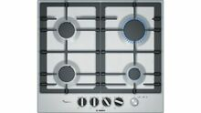 Bosch Gas Hob PCP6A5M90 Stainless Steel Flame Select 60cm Serie 4