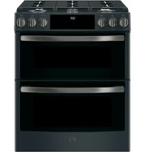 GE Profile PGS960FELDS 30  Slide In Gas Double Oven Convection Range