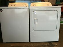 ROPER  White  3 5 cu ft High Efficiency Top Load Washer and 6 5 cu ft Gas dryer