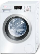 Bosch Axxis Series 24  White 2 2 cu  ft  Front Load Washer WAP24201UC